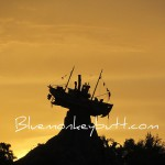 Sunset at Typhoon Lagoon