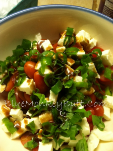 Basil Mozzarella Tomato Salad