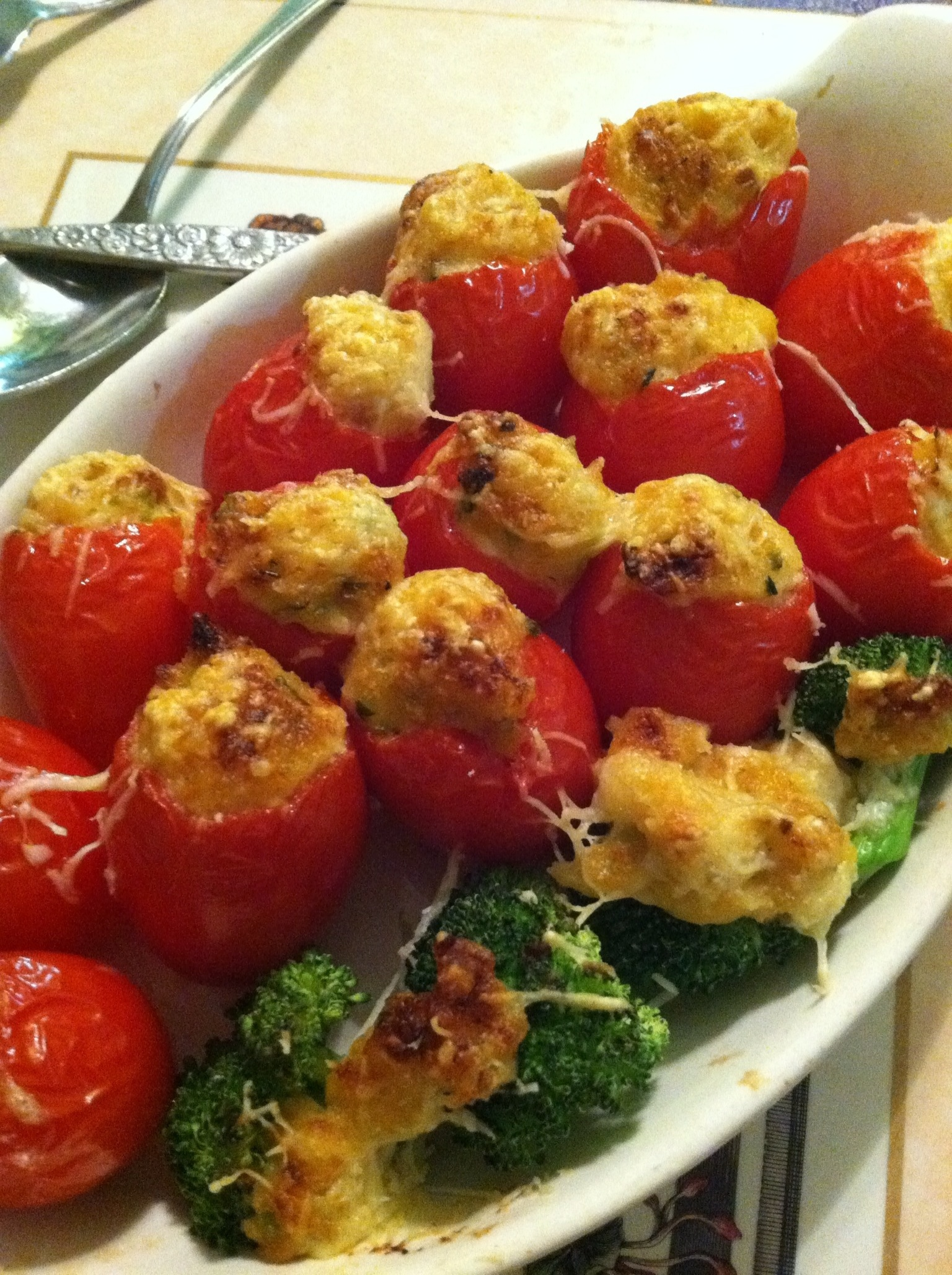 Crabmeat Stuffed Tomatoes
