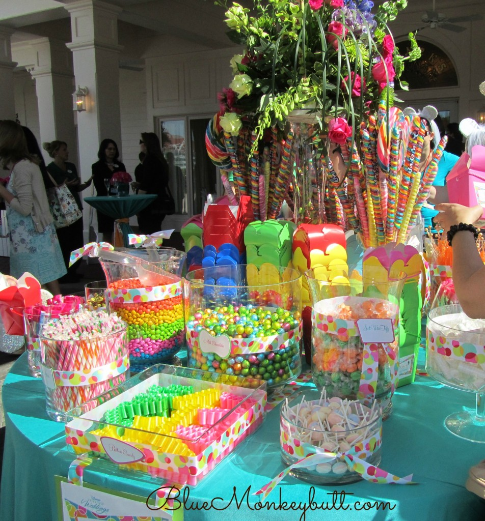 Amazing Candy Table Disney Social Media Moms Disney Wordless Wednesday