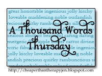 A Thousand Word Thursday~We Can&#039;t Wait!