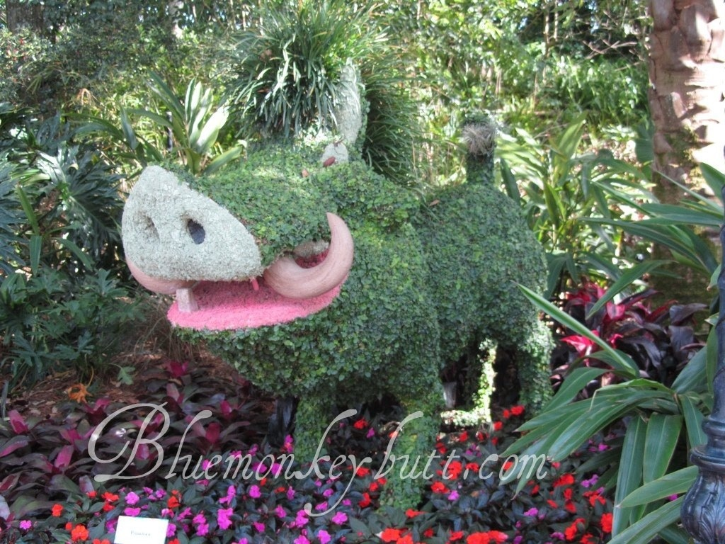 EPCOT International Flower & Garden Festival Wordless Wednesday