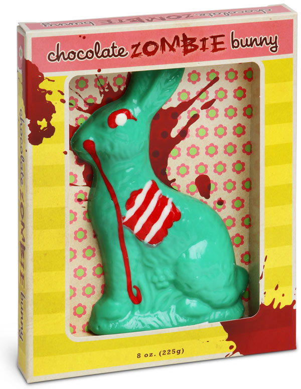 zombie chocolate bunny