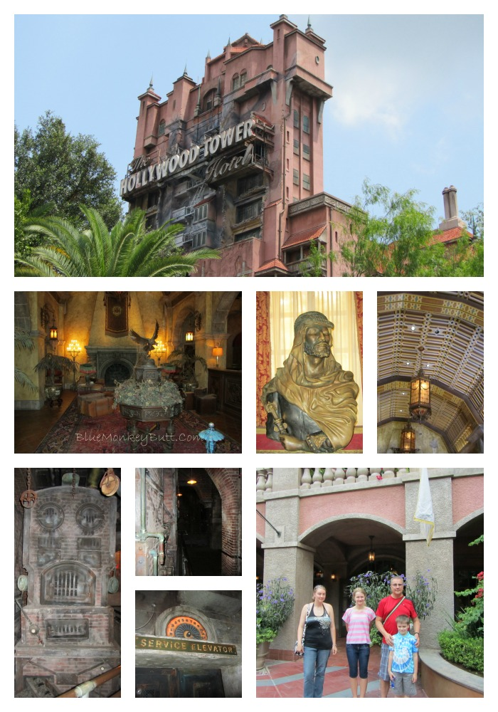 Tower of Terror Collage
