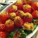Crabmeat Stuffed Tomatoes