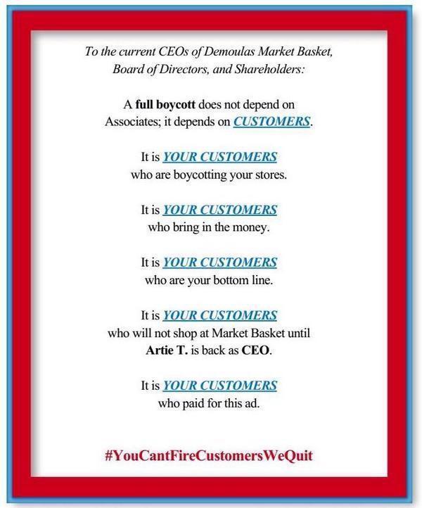 Market Basket Customer Ad