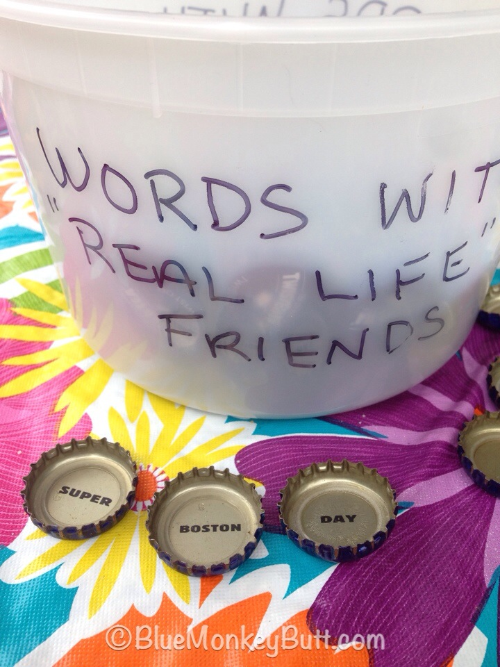 "Random Fun Anyone - Words with ""Real Life"" Friends"