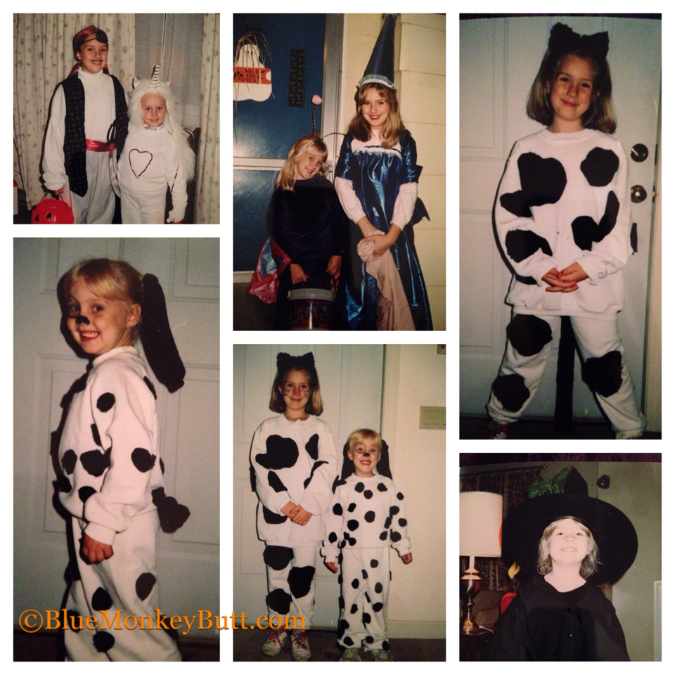 Halloween Costumes I've made for the girls over the years