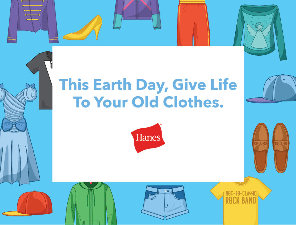 Give Back This Earth Day with Hanes